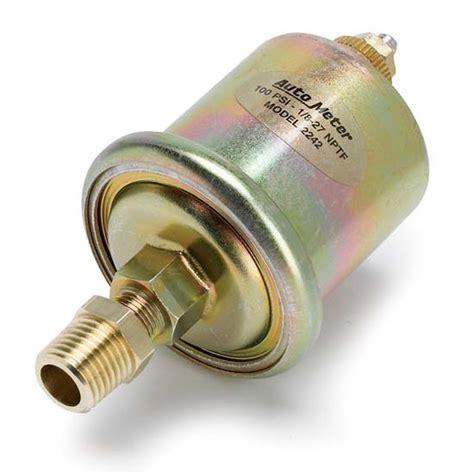 auto meter 2242 pressure sending unit