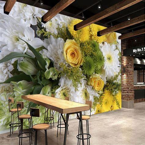 Flower Wallpaper Home Decor by Large Painting Home Decor Hd Flower Murales De