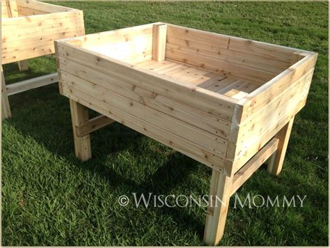 raised garden bed with legs building raised garden beds on legs gardening archives