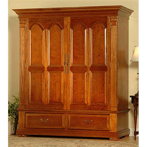 extra wide armoire object moved