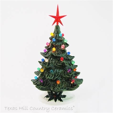 small ceramic tree with lights traditional tabletop ceramic tree small 8 5