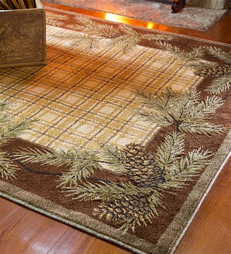 Woolrich Rugs by Woolrich Pine Cone Plaid Rug Accent Rugs Plow Hearth