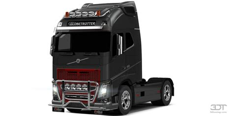 volvo truck auto parts 3dtuning of volvo fh16 globetrotter xl cab truck 2013