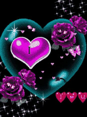 imagenes con movimiento en instagram i love you con rosas y corazones para whatsapp con movimiento
