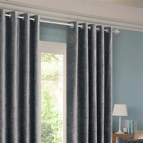 balmoral grey eyelet curtains harry corry limited