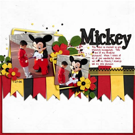 Disney Idea Book Scrapbooking And Crafting Ideas 589 best scrapbook page ideas images on