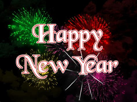 happy  year fireworks  stock photo public domain pictures