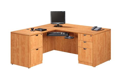 Desks L Shape Ndi Pl14 Executive L Shaped Desk