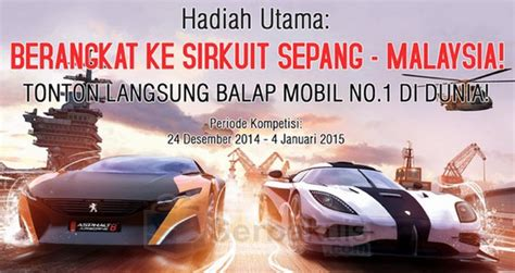 nonton film balap mobil online gameloft indonesia 2014 year end competition