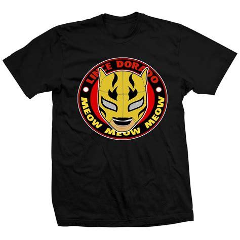Kaos Njpw Logo T Shirt lince dorado professional wrestler lince dorado njpw
