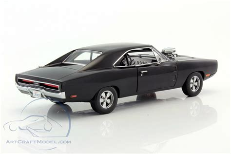 Fast And Furious Doms Dodge Charger 1970 Black 1 24 Scale Doms Dodge Charger From The Fast And Furious 2001
