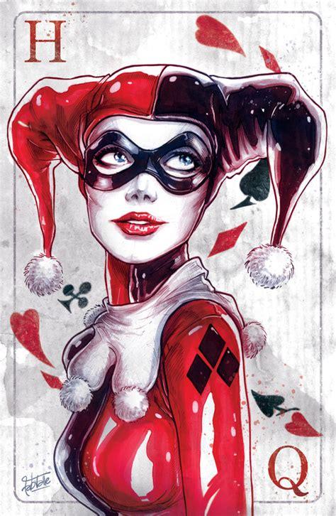 imagenes de joker girl harley quinn nycc 2014 art print by fabvalle society6