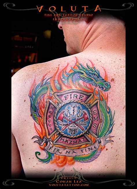 can firefighters have tattoos fighter tattoos