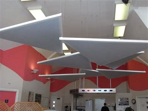 Suspended Acoustic Ceiling Panels Akustik Y 252 Zer Tavan Paneli Ses Emici Panel