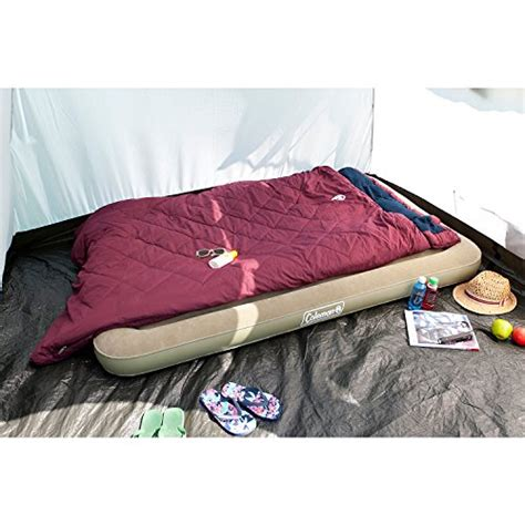 coleman multi comfort sleeping bag coleman comfort double airbed 189 x 120 x 17 cm