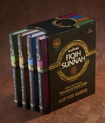 Fiqih Sunnah Sayyid Sabiq Boxset Sayyid Sabiq fiqh sunnah buku terbaik abad ini as sunnah
