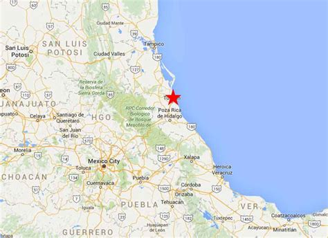 Tuxpan, Veracruz   On The Road In Mexico