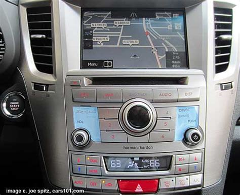 Subaru Navigation System by Outback 2013 Interior Photo Page