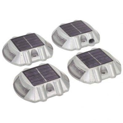 one stop gardens solar light pack of 4 solar pathway markers by one stop gardens 36