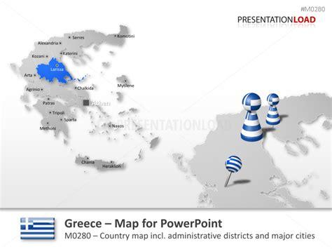 powerpoint tutorial greek powerpoint map greece presentationload
