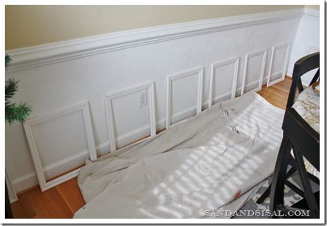 Easy Wainscoting Diy by One Day Remodeling Ideas The Budget Decorator