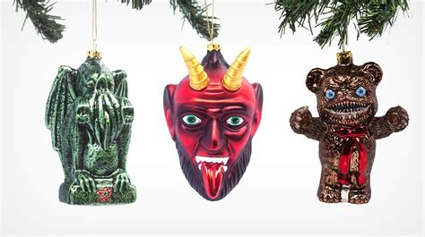 horror christmas tree ornaments c fright