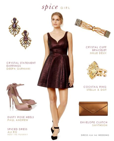 invited to a wedding what wear dresses for a fall wedding guest
