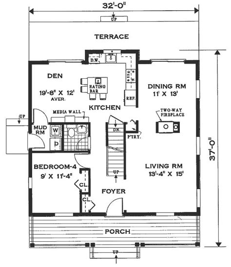hyde park floor plan hyde park 6996 4 bedrooms and 2 baths the house designers