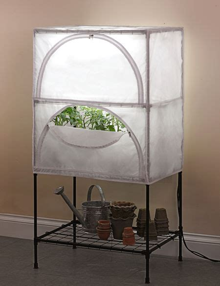 indoor growing system  grow lights  stand  cover