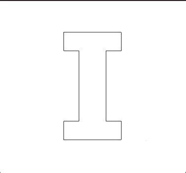 printable capital letter stencils alphabet stenncils page print your capital i stencil