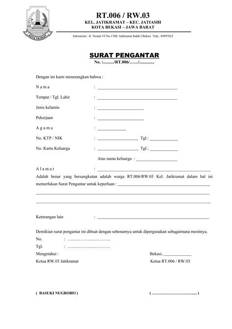 download mp3 gigi taubat form surat pengantar rt rw03 jatikramat indah 1