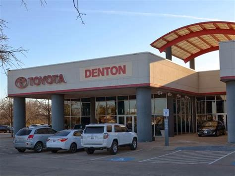 Toyota Dealership Tx Toyota Of Denton Car Dealership In Denton Tx 76210