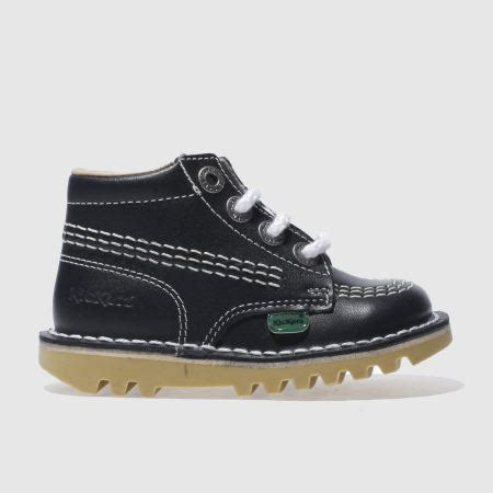 Kickers Slop Navy Murah 2 boys navy kickers kick hi boys toddler schuh