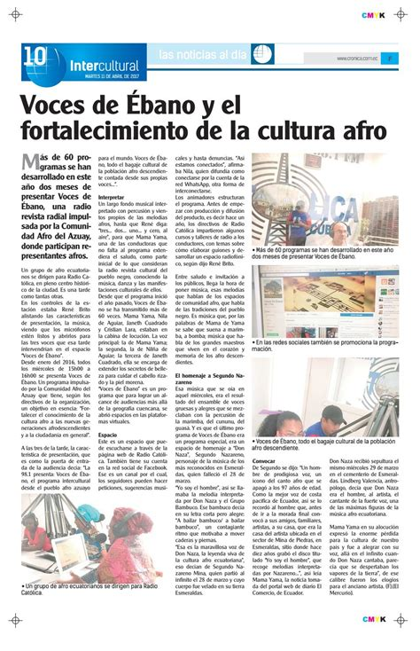 revista ebano 6a edicin by revista ebano issuu 11abril2017 9828 by diario cr 243 nica page 10 issuu