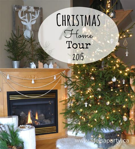 christmas home tour 2015 life is a party