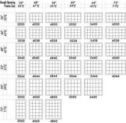 standard basement window sizes series 278 american homestead 2