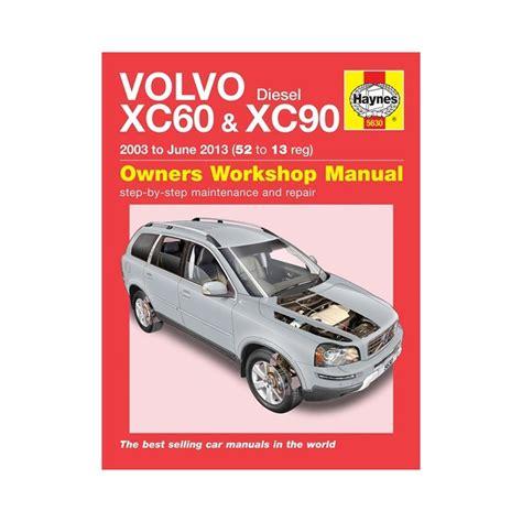 genuine haynes owners workshop manual volvo xc xc diesel   ebay