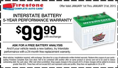 may 2018 99 99 interstate battery firestone auto care