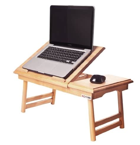 table de lit pour ordinateur portable table de lit pliable pour pc portable notebook comfortable