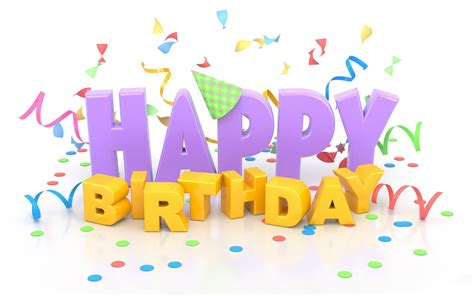 Happy Birthday Wishes In Text Happy Birthday Text Word Png Images And Photo Format