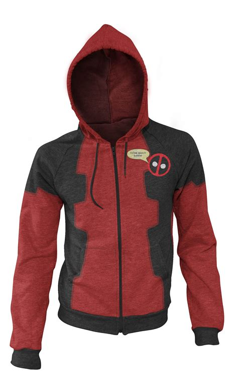 Jaket Hoodie Marvel Logo Sweater my marvel hoodie concepts marvel deadpool and deviantart