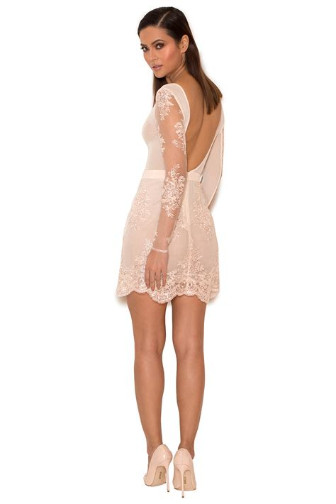 light pink bodycon dress clothing bodycon dresses sathea light pink lace and