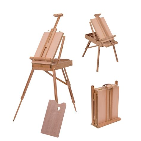 pattern for art easel homcom wooden art easel tripod
