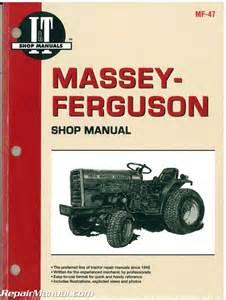 massey ferguson massey harris 1010 1020 tractor manual mf 47