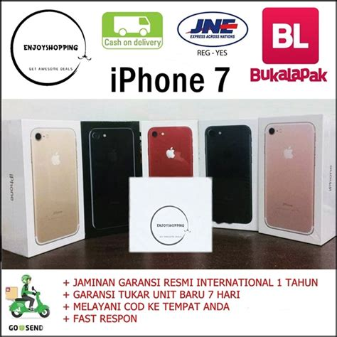 Iphone 7 Silver 128gb Original Garansi Internasional 1 Th 1 jual iphone 7 128gb silver bnib di lapak enjoyshopping enjoy shopping