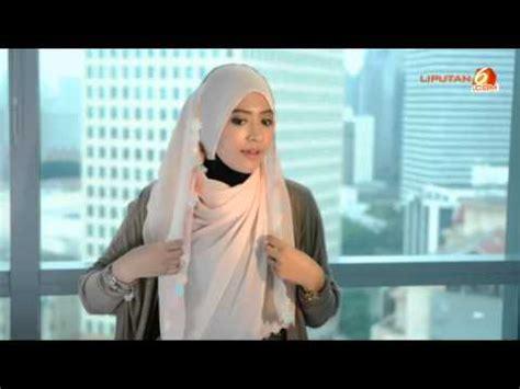 hijab tutorial jilbab segi empat  acara formal
