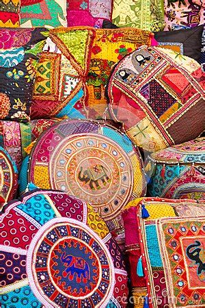 cuscini indiani colorful indian pillows stock photography image 30465172