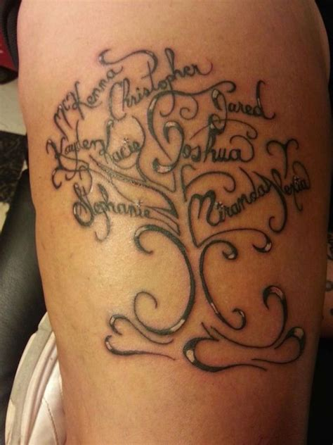 tattoos with names designs gorgeous family tattoos tattoos beautiful