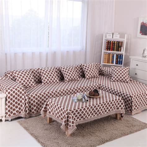 luxury couch covers 2style chenille sofa cover set 1pc sectional sofa cover