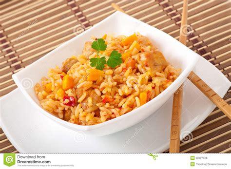 uzbek national dish pilaf stock photo image of broiled gourmet central